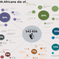 What are South Africans dying of?