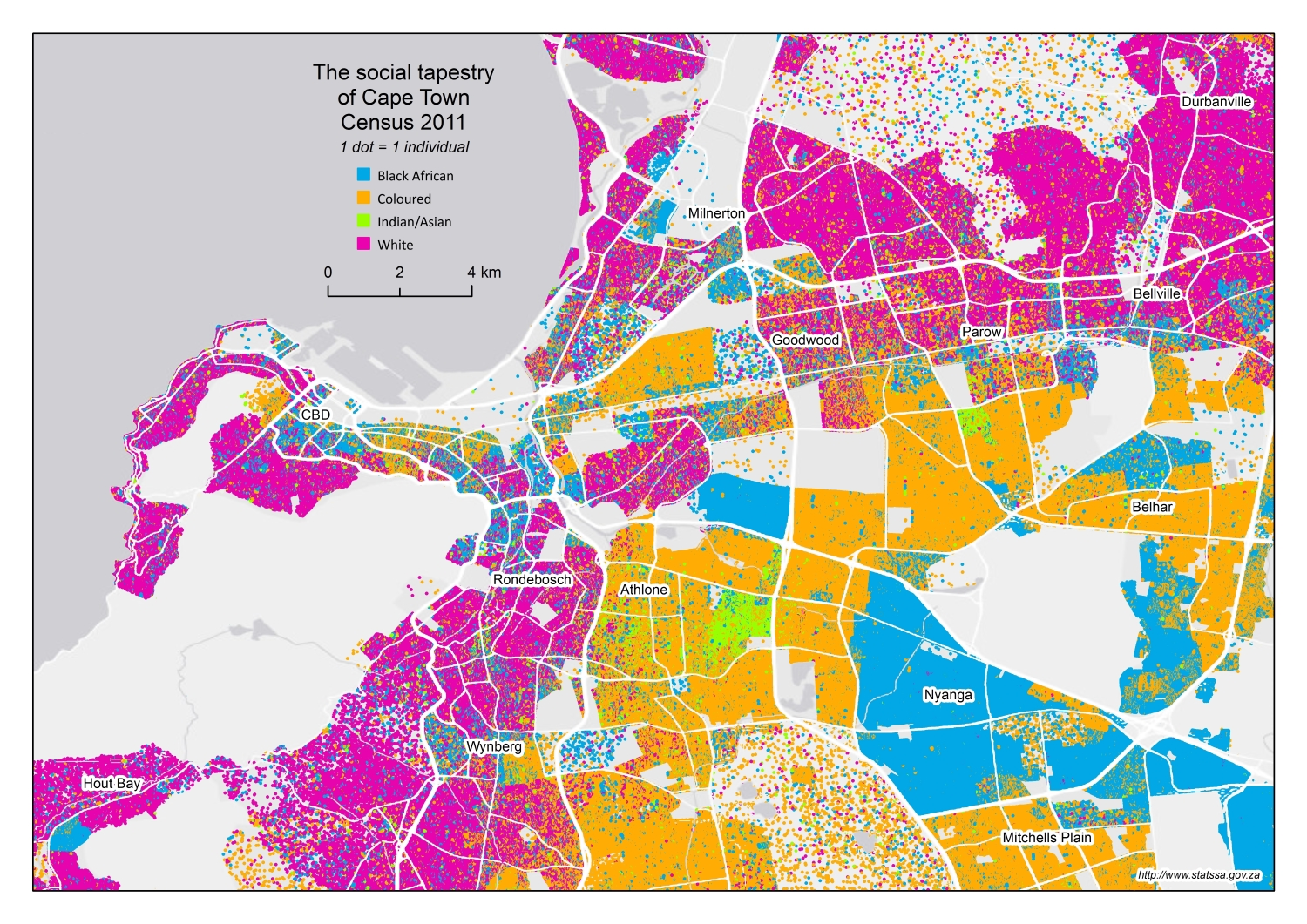 Mapping diversity: an exploration of our social tapestry ...