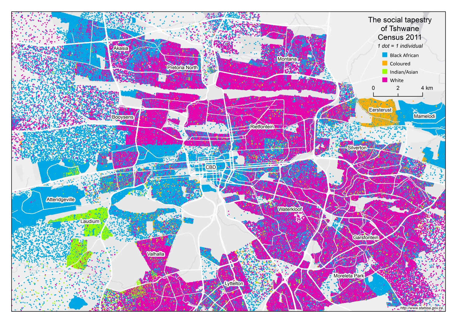Mapping Diversity An Exploration Of Our Social Tapestry - Map of south africa with cities