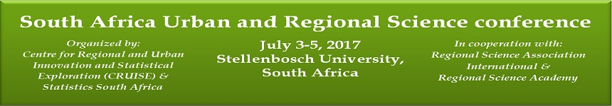 South Africa Urban and Regional Science conference