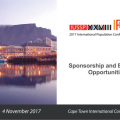 CALL FOR SPONSORS AND EXHIBITORS