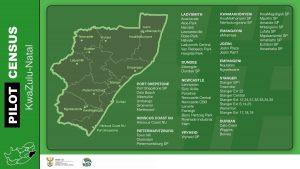 Census 2021 pilot map_KZN